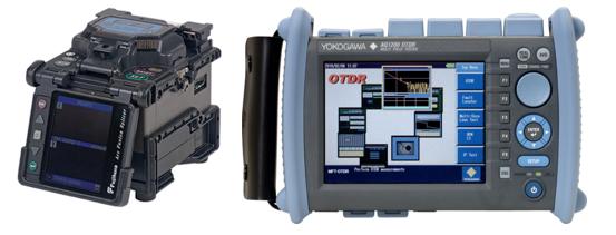 Hàn nối, đo kiểm, xử lý sự cố và bảo trì hệ thống mạng cáp quang