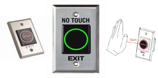 PTE-300 - Luxury Exit  Button
